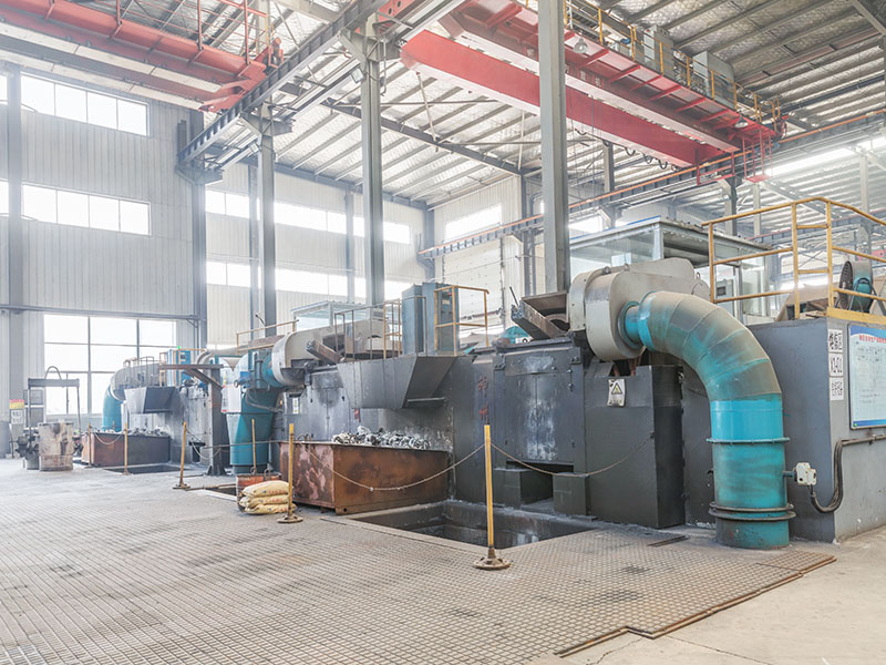 Casting electric furnace
